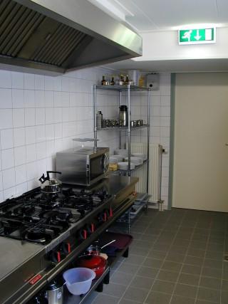 keuken met servies Oltvoort